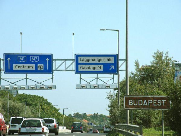 Ungarn Autobahn
