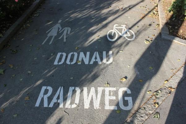 Der Donau Radweg in Passau