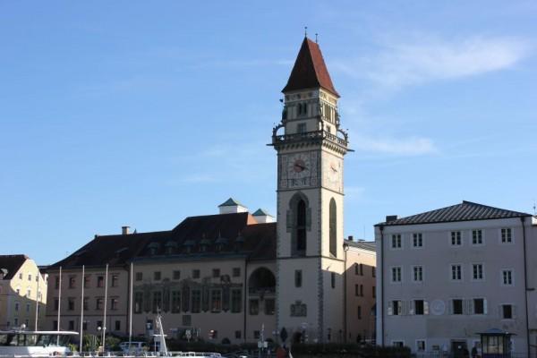 Das Rathaus von Passau