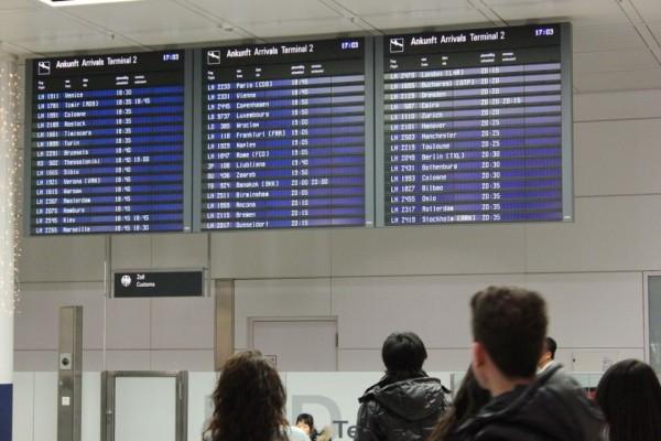 Schnäppchen Urlaub - Ankunft am Flughafen