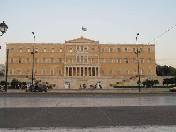 Griechisches Parlament am Syntagma-Platz